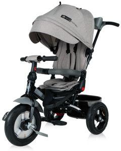 LORELLI JAGUAR AIR Tricikl za djecu (12 - 36 mj/20 kg) - Grey Luxe