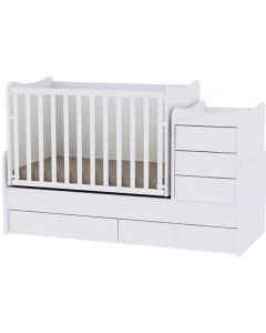 Lorelli Dječji krevetić Maxi Plus - White