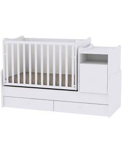 Lorelli Dječji krevetić Trend Plus - White