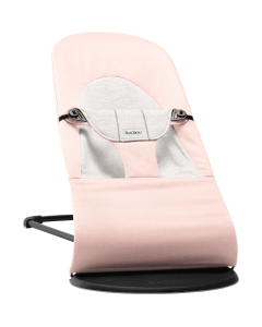 BabyBjörn Balance Soft ležaljka - Light Pink/ Grey
