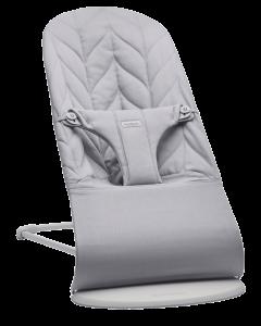 BabyBjörn Bliss Cotton Petal ležaljka - Light Grey