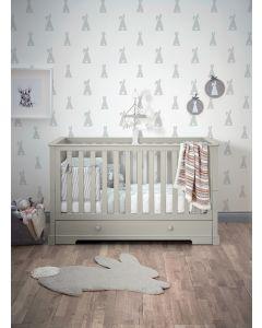 Mamas & Papas Oxford krevetić 140x70cm - Cool Grey
