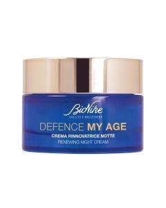 BIONIKE DEFENCE MY AGE Renewing night cream - bogata i hranjiva noćna krema za zrelu kožu, 50 ml