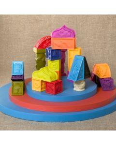 B. Toys - Elemnosqueeze kocke za slaganje