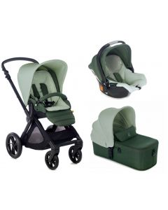 Jane dječja kolica 3u1 Muum + Micro + Koos iSize R1 - Forest Green