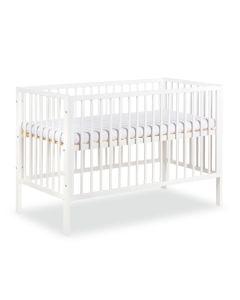 Klups dječji krevetić Frank - 120x60cm - White