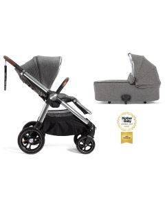 Mamas & Papas Ocarro 2u1 kolica - Grey Twill