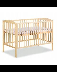 Klups dječji krevetić Henry - 120x60cm - Pine