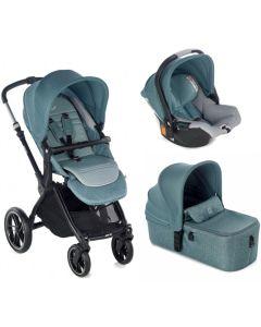 Jane dječja kolica 3u1 Kawai + Micro + Koos iSize R1 -  Mild Blue