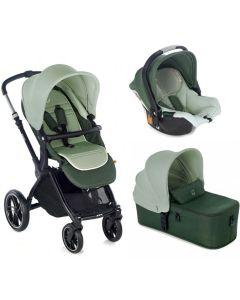 Jane dječja kolica 3u1 Kawai + Micro + Koos iSize R1 -  Forest Green