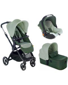 Jane dječja kolica 3u1 Kendo + Micro + Koos iSize R1 -  Forest Green