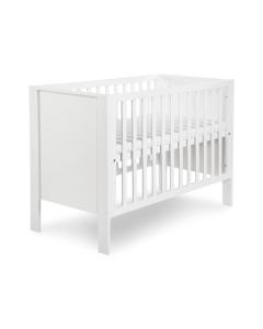Klups dječji krevetić Leon - 120x60cm - White