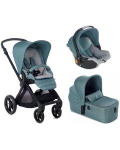 Jane dječja kolica 3u1 Muum + Micro + Koos iSize R1 - Mild Blue
