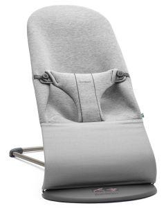 BabyBjörn ležaljka 3D Jersey - Light grey