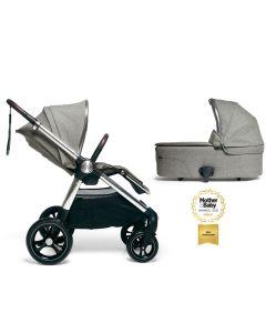 Mamas & Papas Ocarro 2u1 kolica - Signature Edition Woven Grey