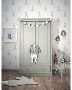 Mamas & Papas Oxford ormar - Cool Grey